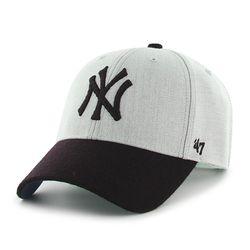 47브랜드 MLB모자 양키즈 울 그레이네이비