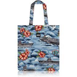 Hawaiian Battle Ships Flat Tote Bag