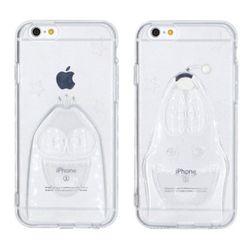 [S2B]라바 3D 클리어 젤리케이스 아이폰6