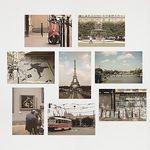 I LOVE PARIS - Post card (8종set)
