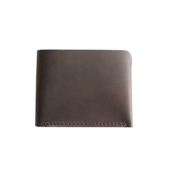 half wallet [brown]