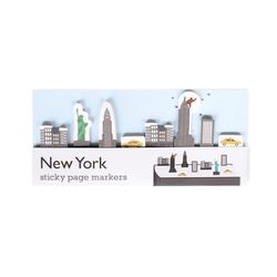 [Duncan Shotton] Sticky Page Markers - New York