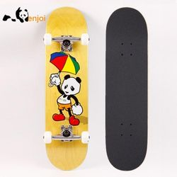 [ENJOI] CARTOON PANDA YELLOW STANDARD COMPLETE 8.0