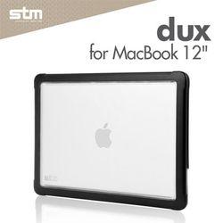 STM dux 맥북 12인치 투명 하드케이스 미끄럼방지