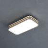 웨이브 LED 작은방등 30W (샴페인골드)