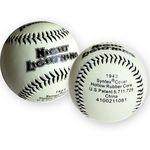프랭클린 야구공 1943 MLB 야광 안전구 야구용품