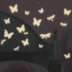 빛을내는나비