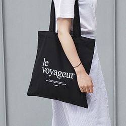 le voyageureco bag (BLACK)