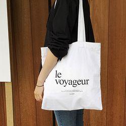 le voyageureco bag (WHITE)