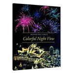Colorful Night View - 유럽아시아 스크래치 북