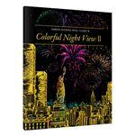 Colorful Night View2-아메리카아프리카 스크래치 북