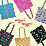 [~10/8까지] Wiggle Wiggle Eco Bag (위글위글 에코백)