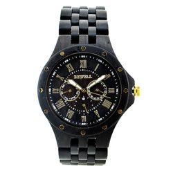 [비웰]Bewell The Lux (Dark brown) 우드손목시계