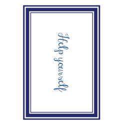 페이퍼 테이블 매트 21 Classic Blue Line