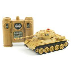 [2.4GHz]배틀탱크 T-34 러시아 탱크 RC(YAK107016CA)