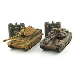 배틀탱크 RC T-90 vs KING TIGER (YAK120008SET)