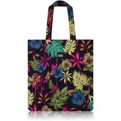 Hawaiian Flat Tote Bag (Navy)