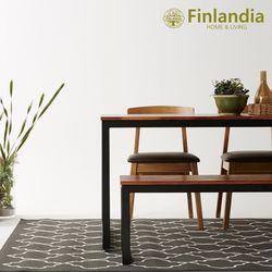 핀란디아 아이린 1600 멀바우 식탁세트