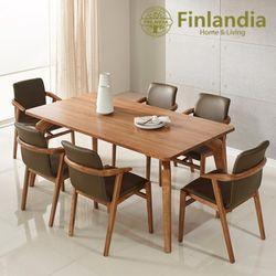 핀란디아 헤르바 6인식탁세트(의자6)