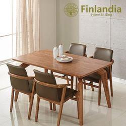 핀란디아 헤르바 4인식탁세트(의자4)