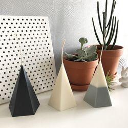 삼각뿔 Modern Candle - 3colors