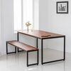 멀바우 철제 식탁 테이블 세트