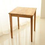 티크 2인 솔리드 식탁 테이블