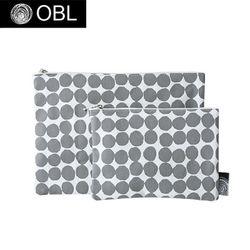 OBL 그레이도트 파우치(M)