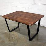 멀바우 평철 식탁 테이블
