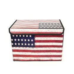 빈티지 미국 접이식 수납박스