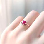 Shall We Kiss- 사랑의 루비 ring (7월 탄생석)