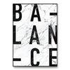메탈 대리석 인테리어 소품 액자 마블 Balance [대형]