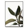 메탈 식물 인테리어 A1 A2 액자 나뭇잎 패밀리 [대형]