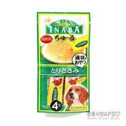 이나바 강아지 츄루 파우치 닭가슴살 D-102