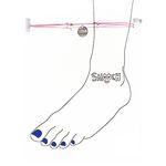 [smooch] Love Anklet (3color)