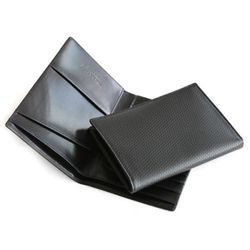이태리 카프 가죽 지폐형 여권지갑(검정)w37911