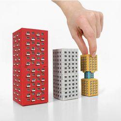 모던 페이퍼 빌딩 4in1 빌딩 Modern Paper Building