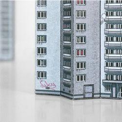 모던 페이퍼 빌딩 Blokowice Eastern Block
