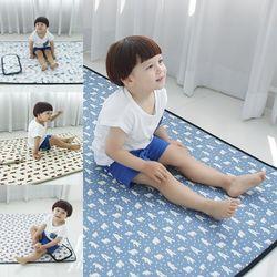 3D에어매쉬 아기쿨매트+베개세트
