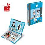 자노드 마그네틱북 소년의패션코디 퍼즐입체3D퍼즐