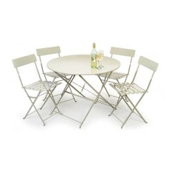 [Garden]Large Rive Droite Bistro Set of Table and