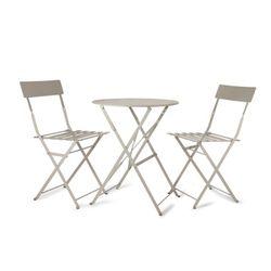 [Garden]Rive Droite Bistro Set of Table and 2 Chai