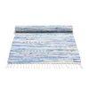 Cotton Rug - Blue mix 75x200cm