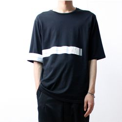 [M.N.I.] SIGNALFILM HEART RATE PATCH T BLACK