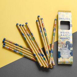 토토로 연필세트(2B스탠실풍)