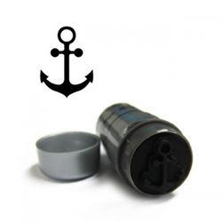 [1+1] 22mm 라지형 타투스탬프 - L13닻(anchor)