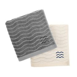 BAMBOO TOWEL (M) 5P SET-GRAY