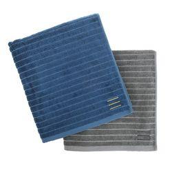 BAMBOO TOWEL (L) 5P SET-GRAY