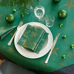 DUNI 크리스마스 테이블보 성탄별