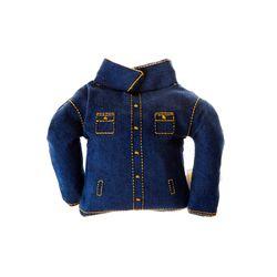 [PetToy] Squeaky Blue Jacket (빠스락삑삑)